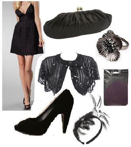 Mala Czarna Sukienka